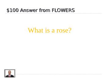 Spring Jeopardy