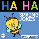Spring Jokes Boom Cards | Speech Therapy | Understanding Humor