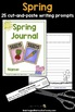 Spring Journal: 25 Journal Writing Prompts
