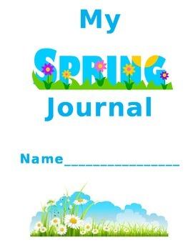 Spring Journal Coversheet