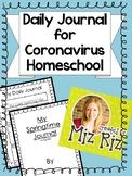 Spring Journal for Kids {Great for Coronavirus Homeschool!}