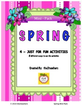 Spring Just For Fun Mini Pack
