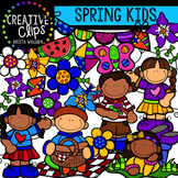 Spring KIDS: Spring Clipart {Creative Clips Digital Clipart}