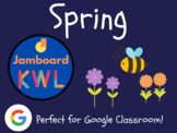 Spring - KWL Charts for Jamboard (Distance Learning, Seaso