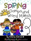 Spring Kiddos: Compound Word Match Center