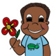 Spring Kids - Chubby Cheeks Clipart Kids.