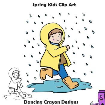 Spring Clip Art Kids