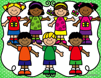 Spring Kids Clipart