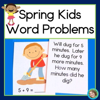 Spring Kids Word Problems
