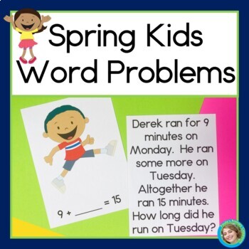 Spring Kids Word Problems