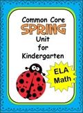 Spring Kindergarten Common Core Unit