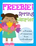 Spring Kindergarten Free