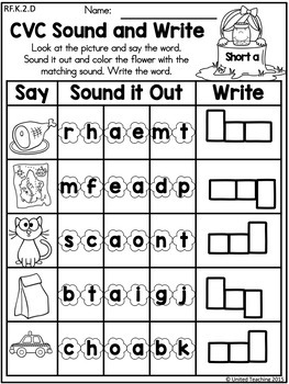 Spring Literacy Activities (Kindergarten)