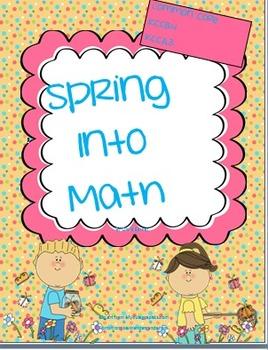 Spring Kindergarten Math/Numbers