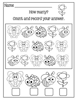 Math Worksheets For Young Learners