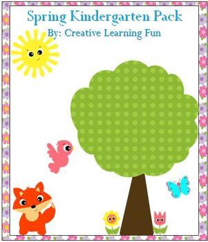 Spring Kindergarten Pack