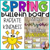 Spring Kindness Bulletin Board