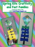 Spring Kite Craftivity and Fact Families FREEBIES