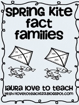 Spring Kite Fact Families