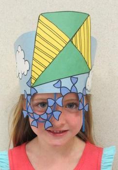 Spring Kite Sentence Strip Hat