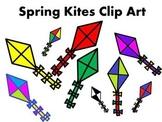 Spring Kites Clip Art