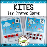 Spring Kites Ten Frame Game  (Pre-K + K Math)