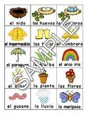 Spring / La primavera SPANISH Workbook & Games Package