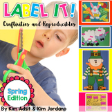 Spring Label It by Kim Adsit and Kim Jordano