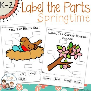 Spring Labeling Center Activities