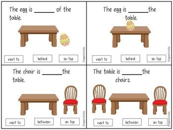 Spring Language Activities