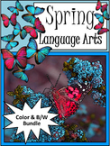 Spring Language Arts Activity Packet Bundle