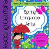 Spring Reading (ELA) Activities and Lessons aligned to common core