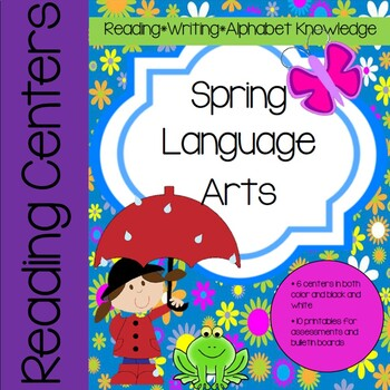 Spring Language Arts (ELA) Activities and Lessons