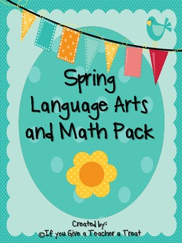 Spring Language Arts and Math Pack