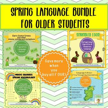 Spring Language Bundle for Older Students