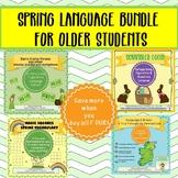Spring Language Bundle for Older Students
