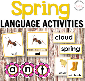 Spring Language Centers and Literacy Activities