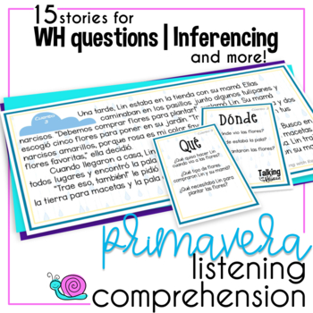 Spring Language Comprehension for Spanish Speech Therapy