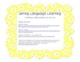Spring Language Learning