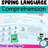 Spring Language Set-Sequencing,Comprehension, Sentences, Growing a Plant