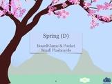 Spring Lapbook Minibook (D)