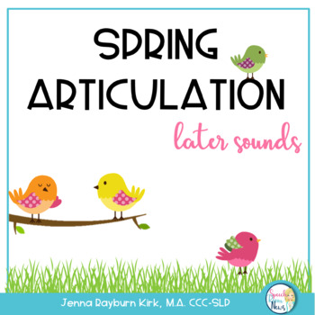 Spring: Later Developing Sounds Articulation Games