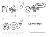 Spring / Le printemps FRENCH Booklet  PREVIEW ONLY