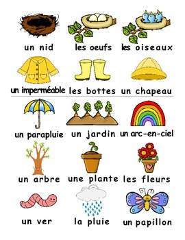 Spring / Le printemps FRENCH Games