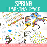 Spring Learning Pack – Prek & K