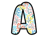 Spring Leaves Bulletin Board Letters, Classroom Décor, Alphabet Posters