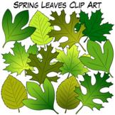Spring Leaves Clip Art