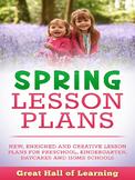 Spring Lesson Plans
