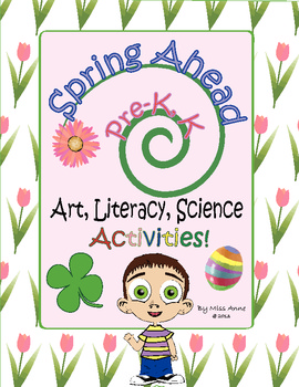 Spring Lesson Plans: Pre-K, Kindergarten - Art, Literacy, Poetry, Tulips, Fun