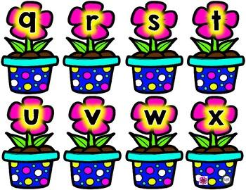 Spring Letter Cards for Making Words